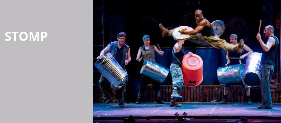 Stomp, Fox Performing Arts Center, Los Angeles