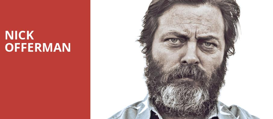 Nick Offerman, Grove of Anaheim, Los Angeles