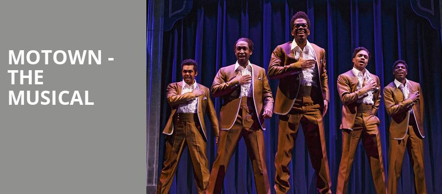 Motown The Musical, Fred Kavli Theatre, Los Angeles