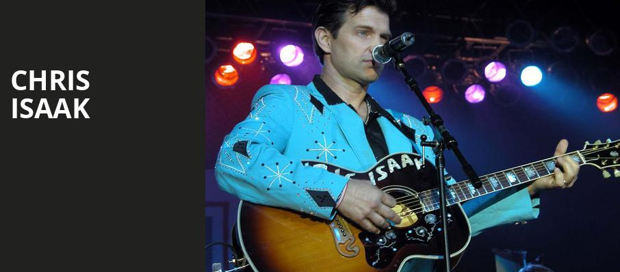 Chris Isaak, Fox Performing Arts Center, Los Angeles