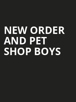 New Order and Pet Shop Boys, Hollywood Bowl, Los Angeles