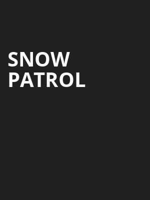 Snow Patrol, Cathedral Sanctuary at Immanuel Presbyterian, Los Angeles