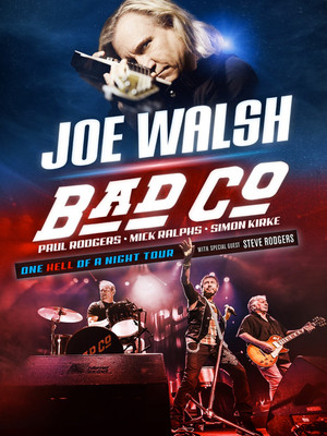 Bad Company & Joe Walsh Poster